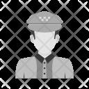 Traffic policeman Icon