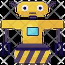 Traffic Robots Mechanical Robot Bionic Man Icon