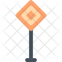 Traffic sign Icon