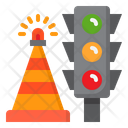 Traffic Sign Traffic Light Road Icon