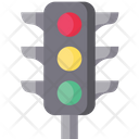 Traffic Signal Signal Lights Traffic Lamps Icon