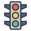 Traffic Signal Led Icon