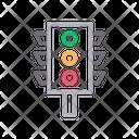 Traffic Signal Lights Icon