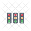 Traffic Signal Light Icon