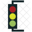 Signal Lights Stop Icon