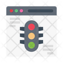 Signal Traffic Browser Icon