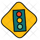 Traffic Lights Signal Icon