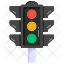 Stoplight Traffic Signal Traffic Lights Icon