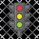 Traffic Light Stoplight Icon