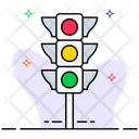 Traffic Signal Traffic Lights Traffic Lamp Icon
