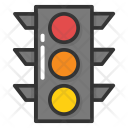 Traffic Lights Signals Icon