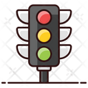 Traffic Signals Traffic Lights Traffic Lamps Icon