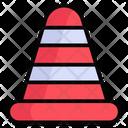 Trafic Cone Construction Cone Construction Icon