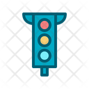Trafic Light Traffic Road Icon