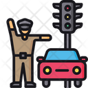 Trafic police Icon