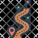 Trail Mark Notch Icon
