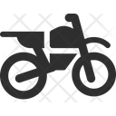 Trail Motorcycle Icon