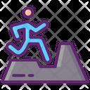 Trail Running Icon