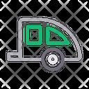 Trailer Caravan Vehicle Icon