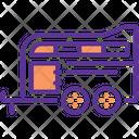 Horse Caravan Travel Icon
