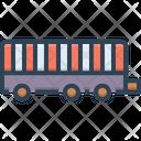 Trailer Truck Trucker Icon