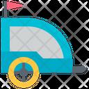 Trailer Buggy Cart Icon