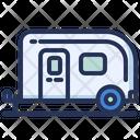 Trailer Van Vehicle Icon