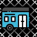 Trailer Truck Vehicle Icon
