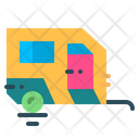 Trailer Caravan Transportation Icon