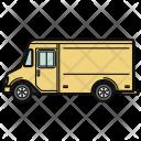 Trailer Car Automobile Icon