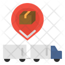 Trailer tracking Icon