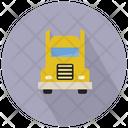 Generic Semi Trailer Truck Trailer Truck Icon