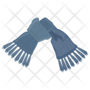 Trails Scarf Grey Scarf Stole Scarf Icon