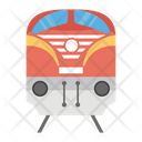 Train Transport Conveyance Icon