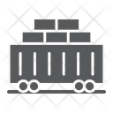 Train Cargo Transport Icon