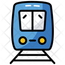 Train Public Transport Railroad Icon