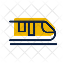 Train Vacation Holiday Icon