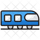 Train Transport Railway Road Icon