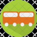 Train Transport Vacation Icon