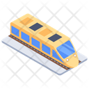 Railway Vehicle Train Transport Icon