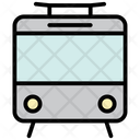 Train Metro Transportation Icon
