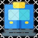 Train Transport Railway Icon