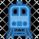 Rilroad Trip Train Subway Icon