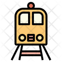 Rilroad Trip Train Subway Icon