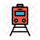 Train Railway Traveling Icon