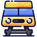 Train Travel Buke Icon