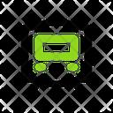 Train Transport Vehicle Icon