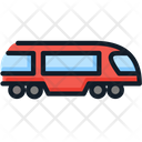 Train Subway Transport Icon