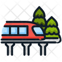 Train Monorail Transport Icon
