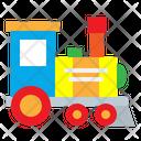 Toy Children Train Icon